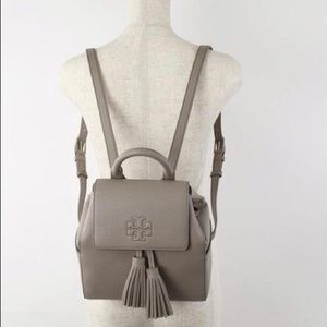 THEA MINI FRENCH GREY BACKPACK